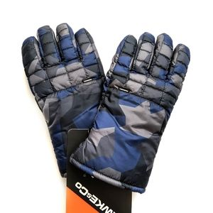 HAWKE & CO Mid-Weight Nylon Field Gloves - Blue